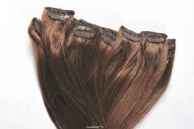 tressmatch hair extensions tressmatch 20 22 remy human hair clip in extensions chestnut