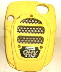 tecumseh 6 5 hp engine cover shroud stanley mower yellow