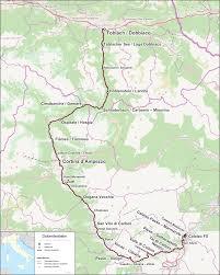 Dolomites Italy Map by Dolomites Railway Wikipedia