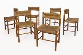 sentou bureau chaises dordogne par perriand pour robert sentou 1950s