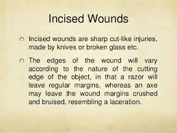 cutting and stabbing wounds criminal documentation