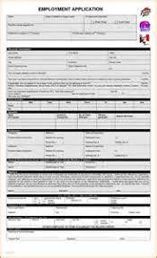 employment application template california pdf example good resume