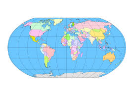 Map Of The World Outline by 144 Free Vector World Maps