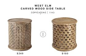 Drum Accent Table Side Table Archives Copycatchic