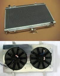 vw center mount fan shroud custom for 52mm 3 row nissan silvia s14 s15 sr20det sr20 240sx 200sx