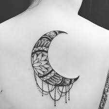 crescent moon meaning ideas tattoos
