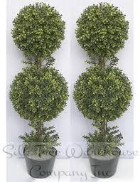 faux topiary trees boxwood topiary trees
