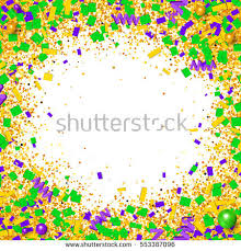 mardi gras picture frame mardi gras border stock images royalty free images vectors