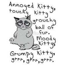 Soft Kitty Meme - grumpy cat clipart annoyed pencil and in color grumpy cat clipart