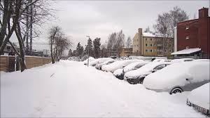 Worst Snowstorms In History Helsinki Fall Snowstorm 9 11 2016 Finland Youtube