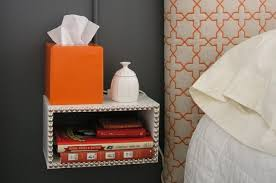 Bedside Table Designs Ergonomic Concepts For Floating Bedside Table Home Decorations