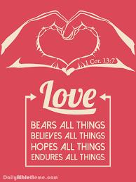 Daily Bible Meme - 1 corinthians 13 daily bible meme god is love pinterest