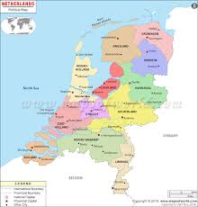 netherlands map political map of netherlands netherlands provinces map