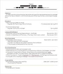 Lead Pharmacy Technician Resume Pharmacy Tech Sample Resume Experience Resumes