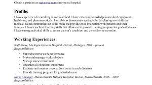 Hospital Nurse Resume Templates Template Proffesional Music Industry Job Descriptions Heavenly