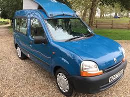 renault van kangoo 2000 w reg renault kangoo jc leisure roo 2 berth camper van