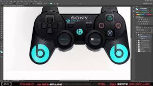 ps3 design beats by dre ps3 controller design