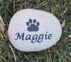 memorial stones for dogs best 25 pet memorial stones ideas on dog memorial