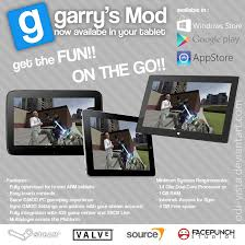 game like garry s mod but free garry s mod for tablet by cptodix on deviantart