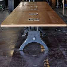 Vintage Conference Table Hure Conference Table Vintage Industrial Furniture