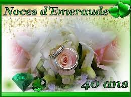 40 ans de mariage 40 ans de mariage noces de mariage