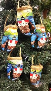maine lobster claw ornaments