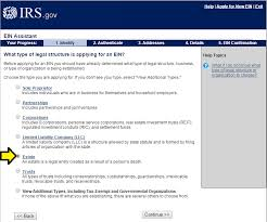 taxpayer id or ein for estate fixed fee dallas probate attorney