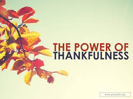sermon by topic the power of thankfulness