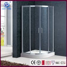 Curved Shower Doors The Best Custom Offset Quadrant Sliding Curved Shower Enclosure
