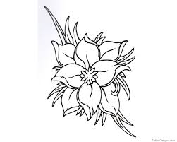 tattoo flower drawings jasmine flower drawing tattoo at getdrawings com free for personal