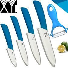 aliexpress com buy xyj brand ceramic knife set of kitchen knives