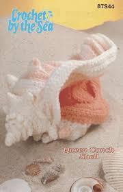 crochet by the sea queen conch shell crochet pattern conch