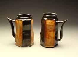 handmade ceramic beer steins by j j savage ceramics sculpture
