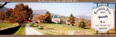 Virginia Bed And Breakfast Winery Caledonia Farm 1812 Bed U0026 Breakfast Flint Hill Va