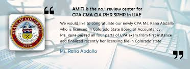 amiti cpa cma cia cfa cscp hr training courses institute dubai