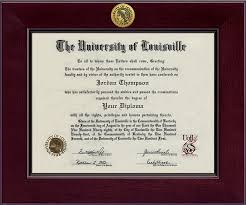 14x17 diploma frame louisville cardinals diploma frame 258615