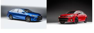 toyota corolla special edition 2016 2016 toyota camry and corolla special edition specs