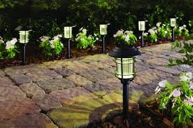 home depot path home depot 6 pack of solar led pathway lights for 10