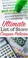 Halloween City Coupon Printable Master List Of Store Coupon Policies To Save You Money
