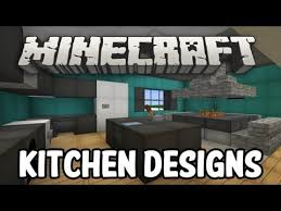 Interior Design Videos Minecraft Interior Design Kitchen Edition Youtube Minecraft