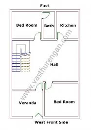 Basic Duplex Floor Plans West Facing House Plan 2 Vasthurengan Com