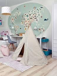 d oration murale chambre enfant 12 idées de papier peint original pour la chambre de votre enfant