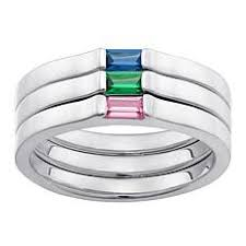 stackable birthstone rings for stackable rings hsn