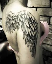 wing design back shoulder inspire ink