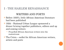 literature themes in the 1920s 1920s lecture 5 harlem renaissance