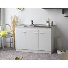 meuble sous evier cuisine pas cher meuble sous evier de cuisine 120cm achat vente pas cher