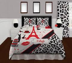 paris bedding paris dorm bedding cheetah print duvet cover