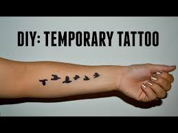 pen tattoo last 4 ways to make a temporary tattoo wikihow