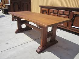 reclaimed trestle dining table rustic trestle dining table french antique best westendbirds