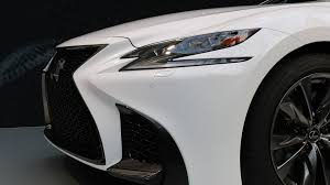 white lexus 2018 2018 lexus ls 500 f sport is more aggressive no more powerful